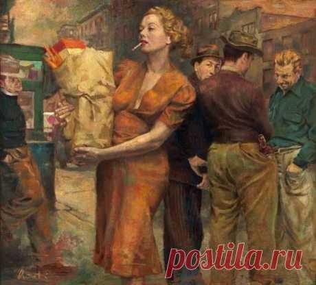 Русская женщина самая ВЕЗУЧАЯ . . . Она ВЕЗЕТ на себе всё!!!
