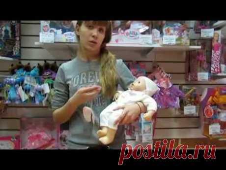 Видео инструкция к кукле Беби Анабель с мимикой.