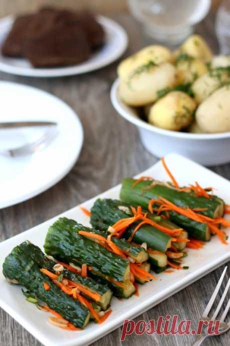 Огурцы по-корейски - На этой кухне многие ели. Некоторые до сих пор живы — LiveJournal