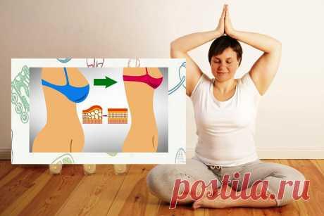 «Пэт стрейч»: Поза на 1 минуту для активации обмена веществ и устранения жира | ❤️Makeup-lover | Яндекс Дзен