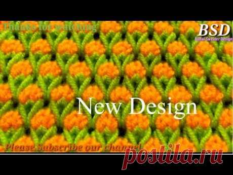 Beautiful Two Color knitting Sweater Design    Double color pattern Koti Design for Girls and Female