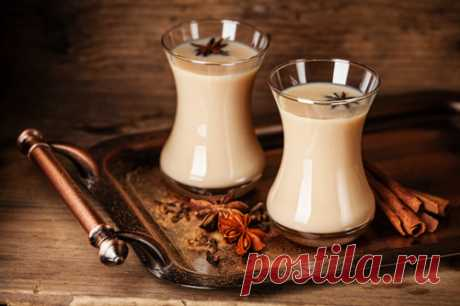 Пряный чай латте – рецепты, свойства