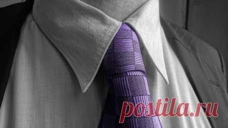 Как сшить мужской галстук - инструкции и видео
