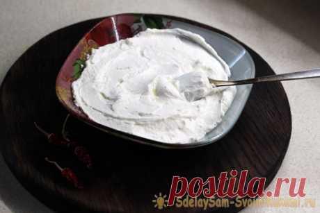 Домашний крем-сыр «Филадельфия» из бюджетных ингредиентов