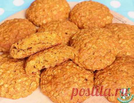 Постное медовое печенье морковно-овсяное – кулинарный рецепт