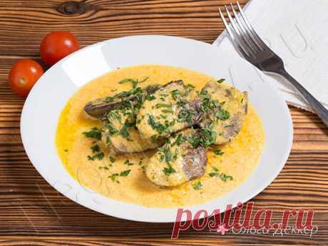 Сердечки индейки - рецепт необычного, вкусного блюда