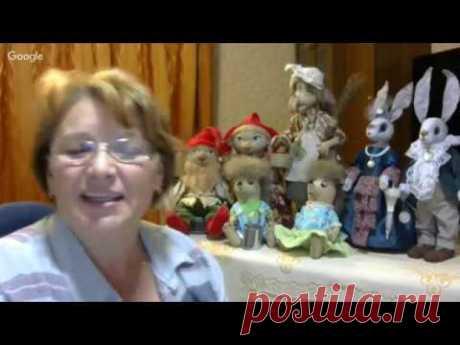 Куклы и игрушки: праздник рукоделия. День 10. Светлана Юдина