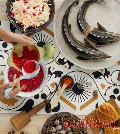"""Los pasteles Chadeevoy - en el sitio \""""la Cartelera-comida\"""""""