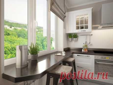 Как сделать маленькую кухню стильной и удобной