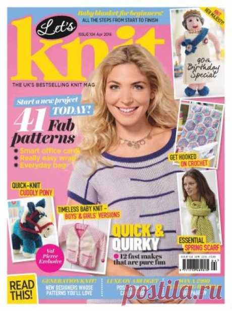 Let's Knit ISSUE 104 April 2016