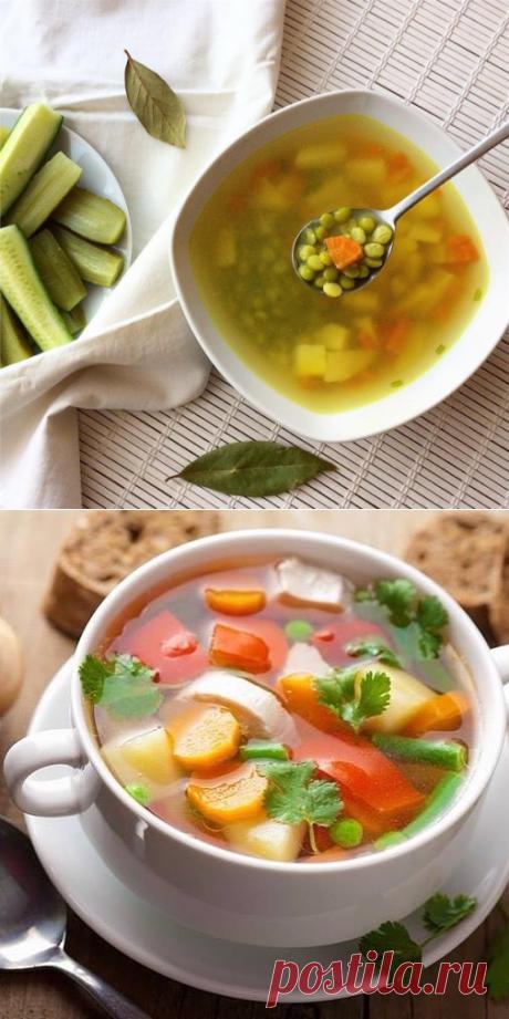 Детское питание: Супы с зеленым горошком