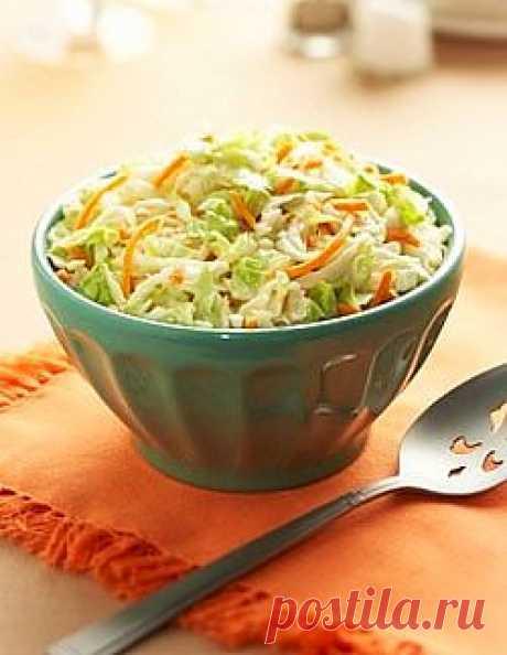 Витаминный салат из капусты | ЗДОРОВЫЙ ОБРАЗ