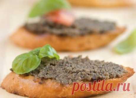 Рецепт приготовления оливковой пасты тапенада в домашних условиях
