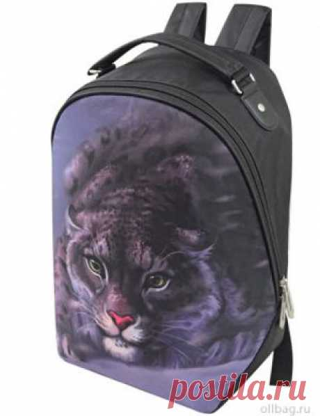 Рюкзак женский 2083-005 принт ягуар в интернет-магазине Ollbag.ru