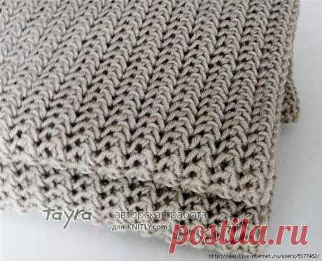 Красивый узор для шарфа (УЗОРЫ СПИЦАМИ) – Журнал Вдохновение Рукодельницы