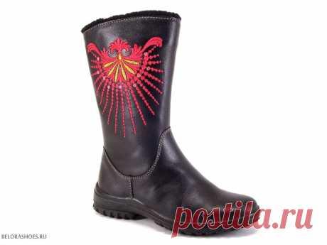 Сапожки дошкольные Марко 5925 - детская обувь, обувь для девочек, сапоги. Купить обувь Marko