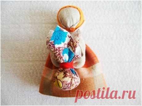 Народная кукла-оберег в дорогу Подорожница