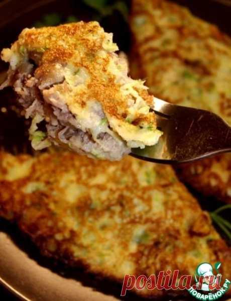 Фальшивые чебуреки из кабачков – кулинарный рецепт