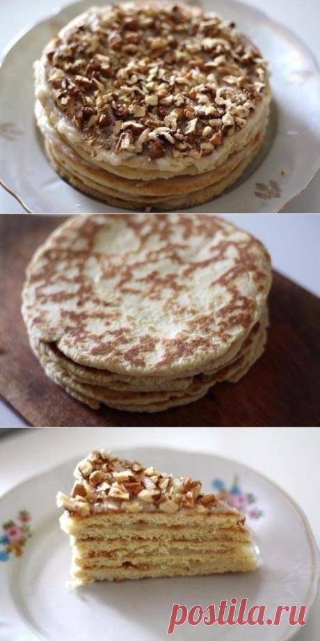 Как приготовить торт на сковороде за полчаса! - рецепт, ингредиенты и фотографии