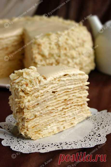 """Торт """"Наполеон"""" с очень вкусным кремом - очень подробно.."""
