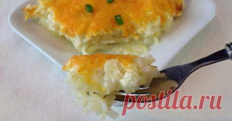картофельная запеканка(с курицей)