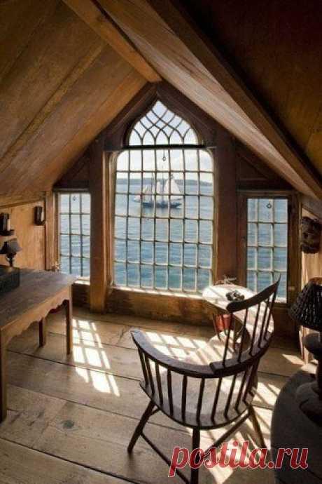 Окна с видом на море