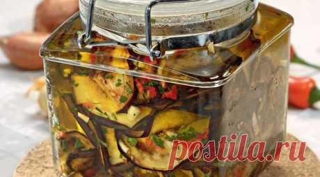 Чудо баклажаны в оливковом масле  Ингредиенты:  - баклажан - 4 шт. Показать полностью…