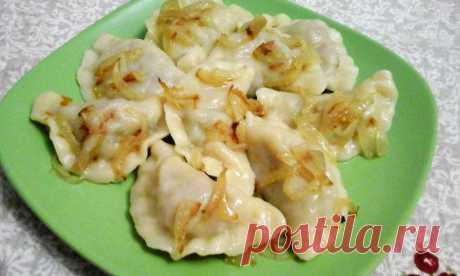 Вареники с картошкой и грибами | Домашняя еда