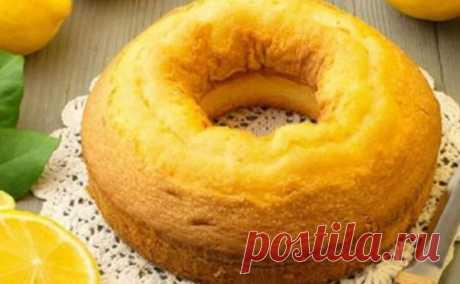 Лимонный пирог. Очень вкусный и легкий в приготовлении - СУПЕР ШЕФ