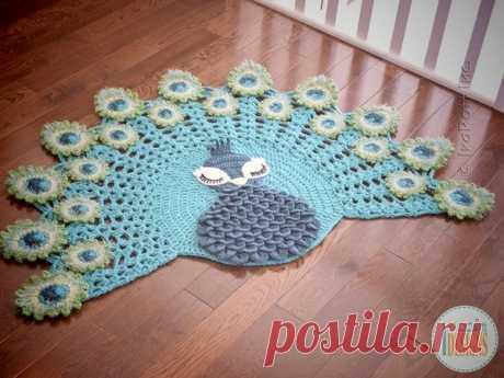 Вдохновляемся: нереальные коврики от канадского мастера Иры Ротт | Вязаные радости | Яндекс Дзен