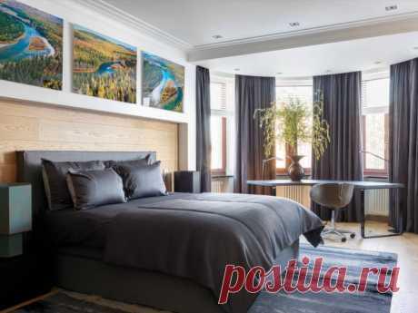 Дизайн спальни 18 кв м – идеи оформления и 40 фото