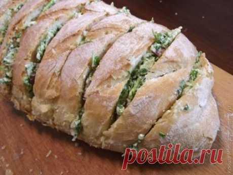 👌 Хлеб, фаршированный фетой и маскарпоне