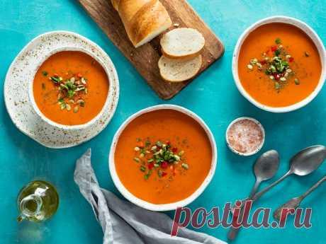 Гаспачо с белой фасолью | Vegetarian.ru