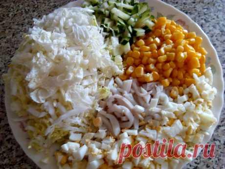 """Низкокалорийный питательный салат, сделанный по принципу """"тарелочки"""", для худеющих   Похудеть? No problem   Яндекс Дзен"""