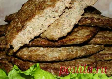 Children adore such hepatic cutlets with rice of the Child adore such hepatic cutlets with rice