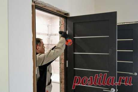 Заказать установку межкомнатных дверей и не нарваться на халтурщиков