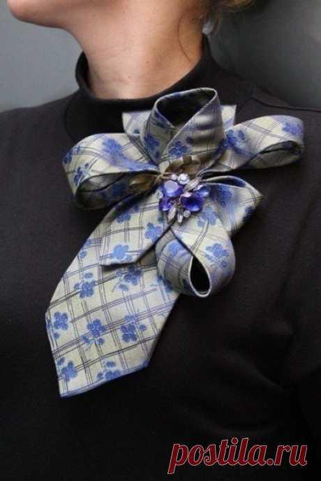 Оригинальные идеи из галстуков — Сделай сам, идеи для творчества - DIY Ideas
