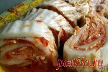 Рецепт приготовления кимчи Если надоела квашеная капуста, приготовьте корейскую – кимчи. Острая, пикантная и необычайно красивая.