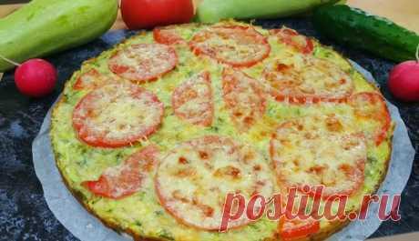 Аппетитная пицца из кабачков: идеальное летнее блюдо для всей семьи - медиаплатформа МирТесен