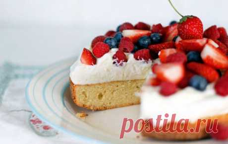Домашний торт с кремом и ягодами - Пошаговый рецепт с фото своими руками Домашний торт с кремом и ягодами - Простой пошаговый рецепт приготовления в домашних условиях с фото. Домашний торт с кремом и ягодами - Состав, калорийность и ингредиенти вкусного рецепта.