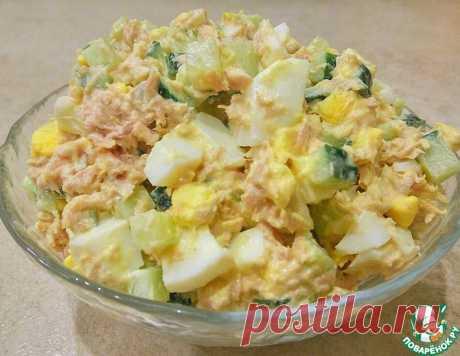 Салат с тунцом – кулинарный рецепт