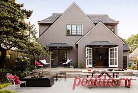 Цвет фасада и крыши, сочетание, виды - фото примеров Цвет фасада и крыши - завершающая стадия накрывания крыши и отделки фасада, и вот тут нужно постараться подобрать идеальную цветовую комбинацию.