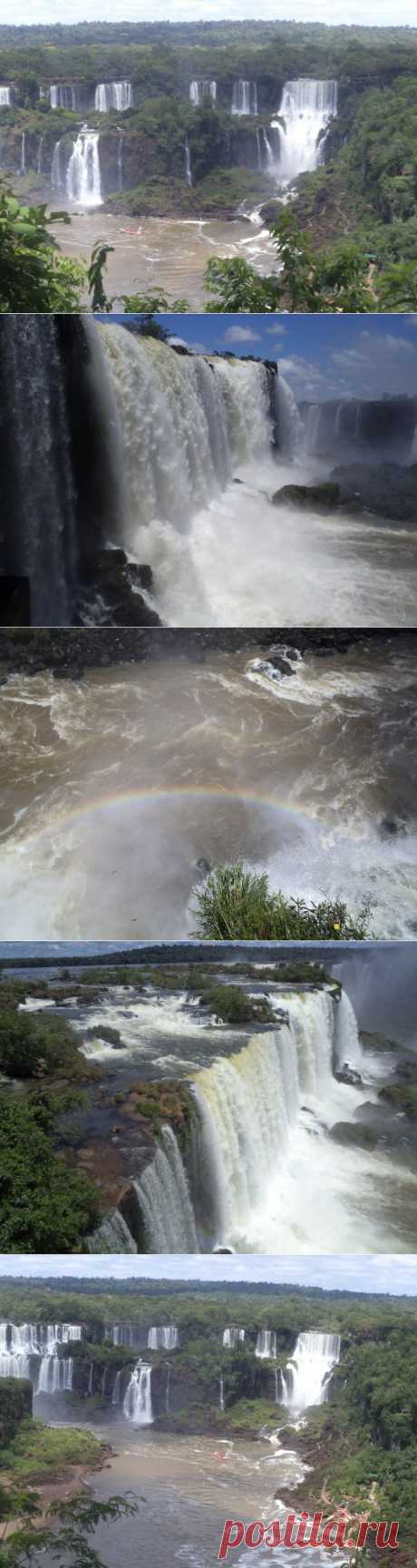 (+1) тема - Водопады Игуасу | Фотоискусство