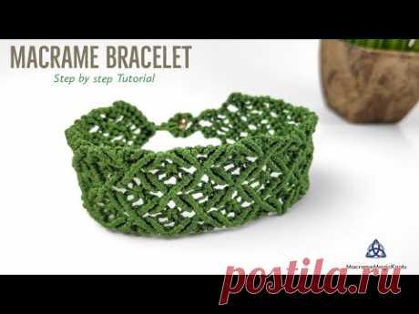 Most POPULAR Bracelet on INSTAGRAM | DIY Macrame