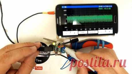 Простой самодельный осциллограф из смартфона Хороший осциллограф относится к слишком дорогому оборудованию для обычного радиолюбителя, для которого пайка микросхем и ремонт электроники является