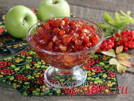 Варенье из красной рябины с яблоками — рецепт с фото Рецепт яблочного варенья с пикантным рябиновым вкусом.