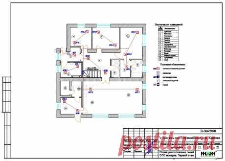 Проект электрики дома пример 564