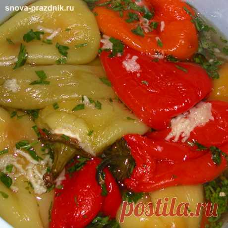 Pickled peppers — favourites of a family feast