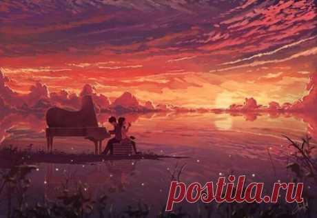 Великолепные произведения Фредерика Шопена Они помогают расслабиться и чистят мысли от суеты