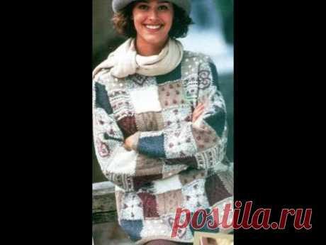 Оригинальный Свитер Спицами - 2019 / Original Sweater Knitting